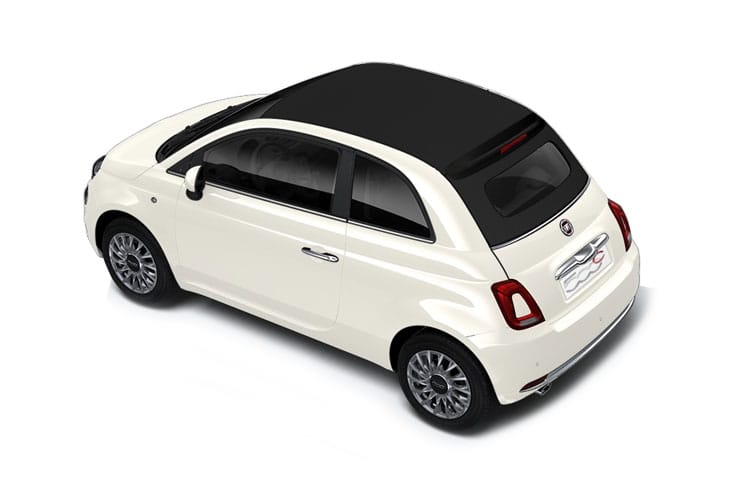 Fiat 500 C Convertible 1.0 MHEV 70PS Connect 2Dr Manual [Start Stop] back view