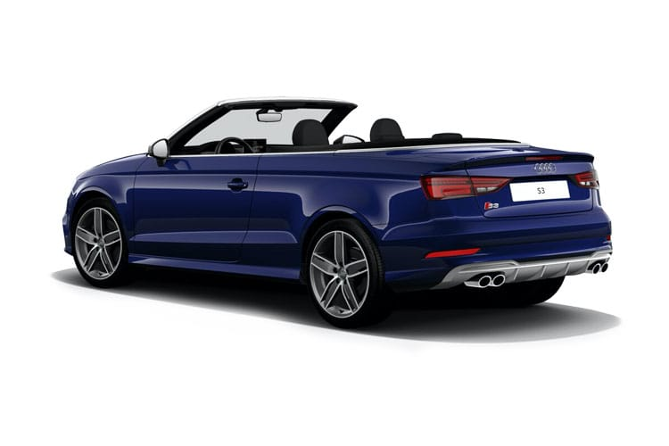 Audi A3 40 Cabriolet quattro 2Dr 2.0 TFSI 190PS S line 2Dr S Tronic [Start Stop] [Technology] back view