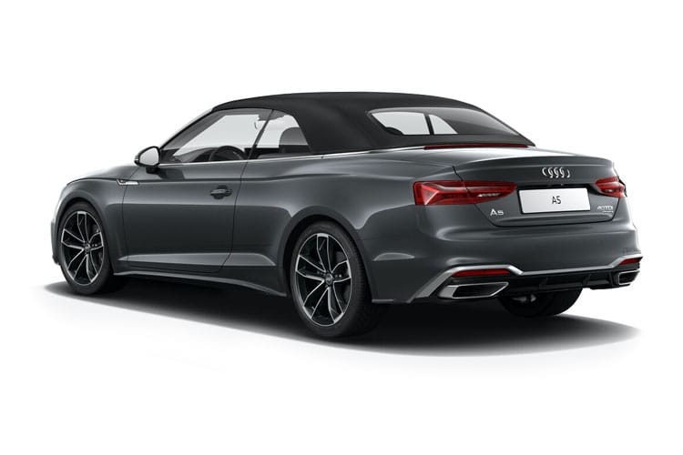 Audi A5 40 Cabriolet quattro 2Dr 2.0 TDI 204PS Sport 2Dr S Tronic [Start Stop] [Comfort Sound] back view