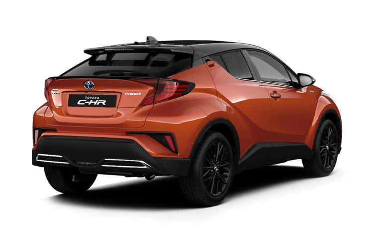 Toyota C-HR 5Dr 1.8 VVT-h 122PS Icon 5Dr CVT [Start Stop] [Tech] back view