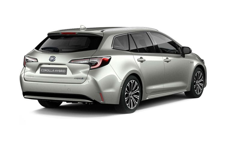 Toyota Corolla Touring Sports 2.0 VVT-h 184PS GR SPORT 5Dr CVT [Start Stop] back view