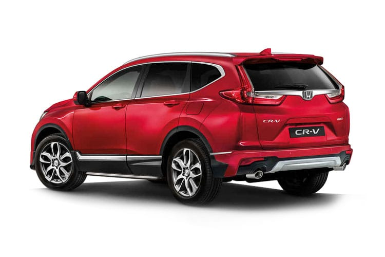 Honda CR-V SUV 2.0 h i-MMD 184PS SR 5Dr eCVT [Start Stop] back view