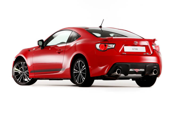 Toyota GT86 Coupe 2Dr 2.0 Boxer D-4S 200PS  2Dr Manual [Touch & Go] back view