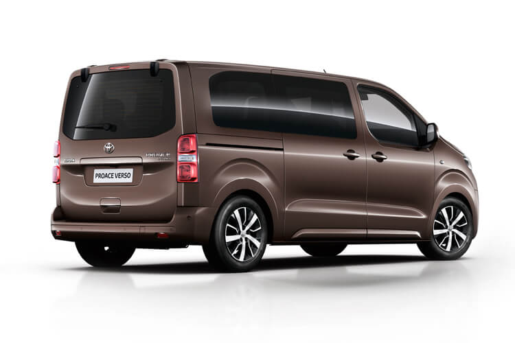 Toyota PROACE Verso Medium 1.5 D FWD 120PS Shuttle MPV Manual [Start Stop] [9Seat Safety Sense] back view