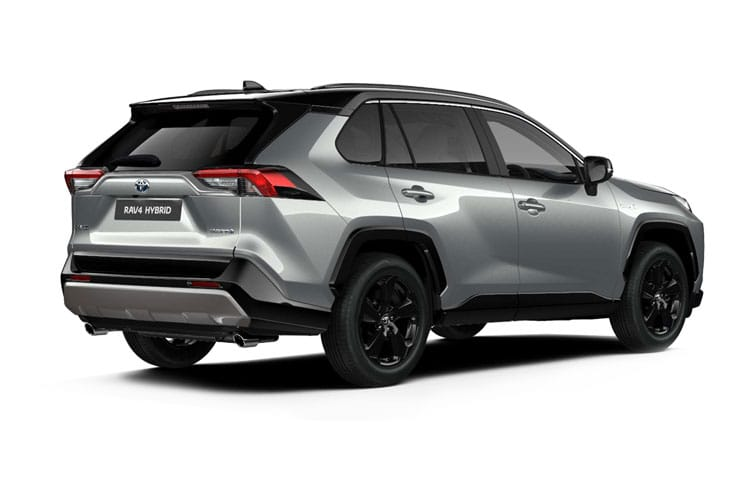 Toyota RAV4 SUV 2wd 2.5 VVT-h 218PS Excel 5Dr CVT [Start Stop] [Pan Roof] back view