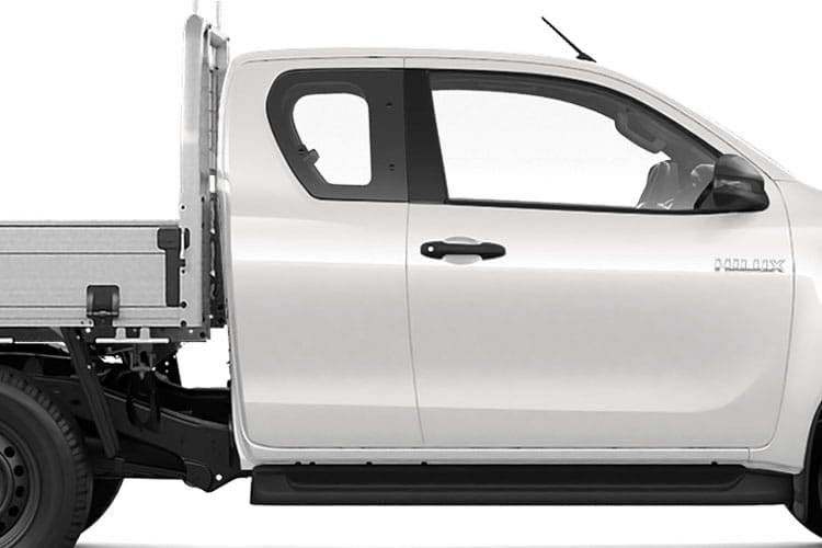 Toyota Hilux PickUp Extra Cab 4wd 2.4 D-4D 4WD 150PS Active Chassis Chassis Cab Manual [Start Stop] detail view