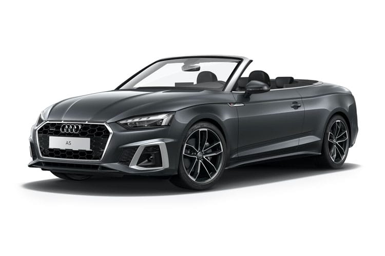 Audi A5 40 Cabriolet quattro 2Dr 2.0 TDI 204PS Sport 2Dr S Tronic [Start Stop] [Comfort Sound] front view