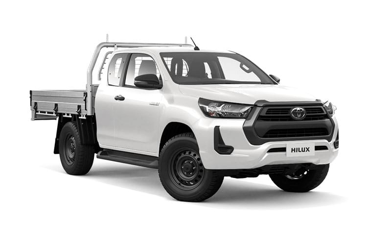 Toyota Hilux PickUp Extra Cab 4wd 2.4 D-4D 4WD 150PS Active Chassis Chassis Cab Manual [Start Stop] front view