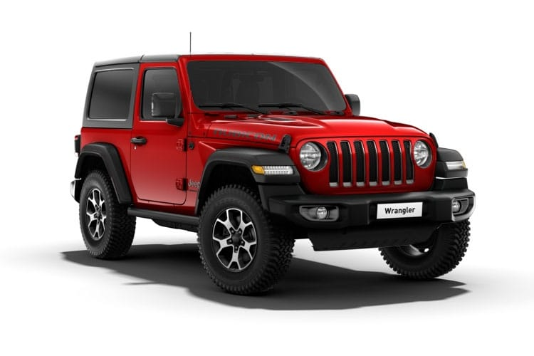 Jeep Wrangler SUV 2Dr 2.2 MultiJetII 200PS Rubicon 2Dr Auto [Start Stop] front view