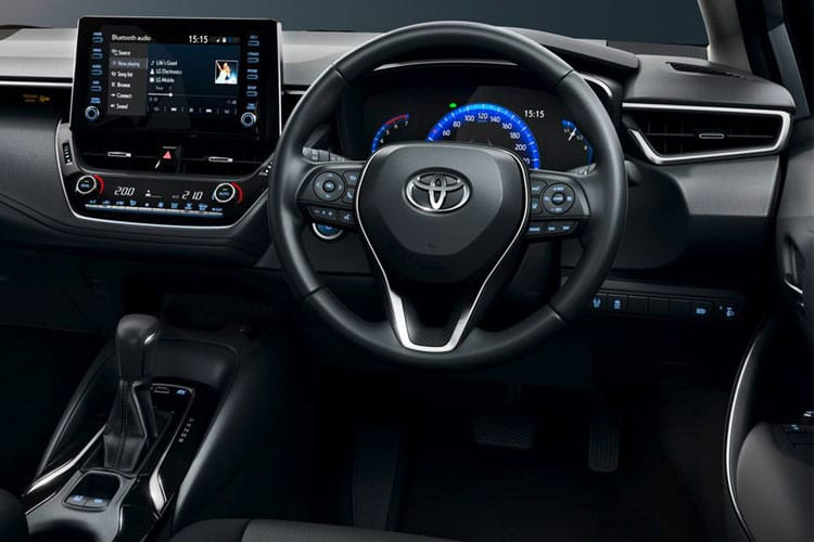 Toyota Corolla Saloon 1.8 VVT-h 122PS Icon Tech 4Dr CVT [Start Stop] inside view