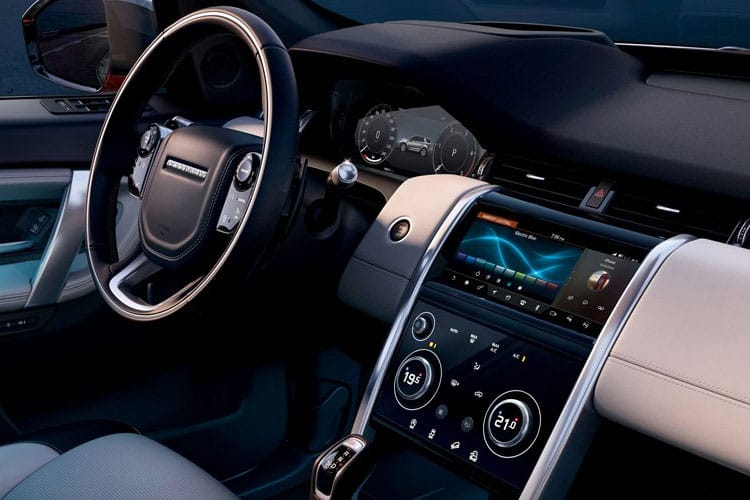 Land Rover Discovery Sport SUV 1.5 P300e PHEV 12.2kWh 309PS R-Dynamic HSE 5Dr Auto [Start Stop] [5Seat] inside view