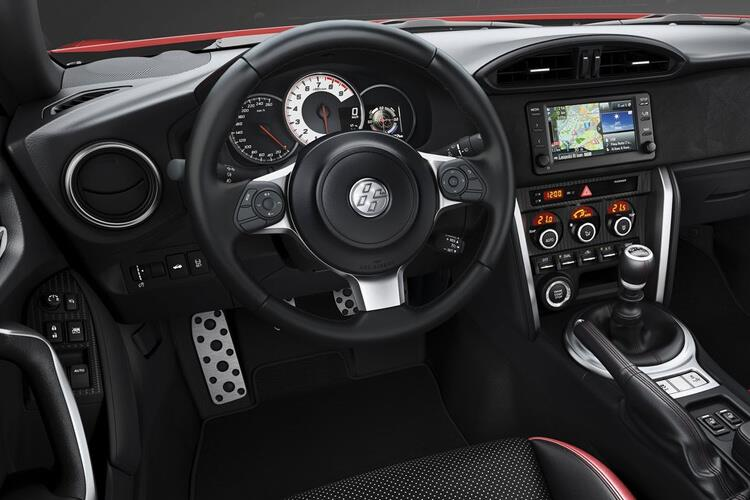 Toyota GT86 Coupe 2Dr 2.0 Boxer D-4S 200PS  2Dr Manual [Touch & Go] inside view