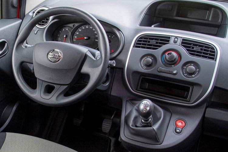 Nissan NV250 L2 1.5 dCi FWD 95PS Visia Crew Van Manual [Start Stop] inside view