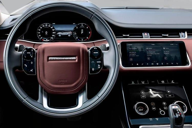 Land Rover Range Rover Evoque SUV 5Dr 2.0 D MHEV 180PS R-Dynamic S 5Dr Auto [Start Stop] inside view