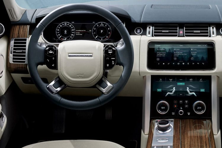Land Rover Range Rover SUV 3.0 D MHEV 300PS Westminster Black 5Dr Auto [Start Stop] inside view