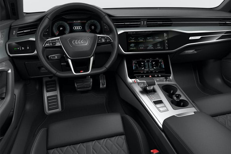 Audi A6 50 Saloon quattro 3.0 TDI V6 286PS Sport 4Dr Tiptronic [Start Stop] inside view