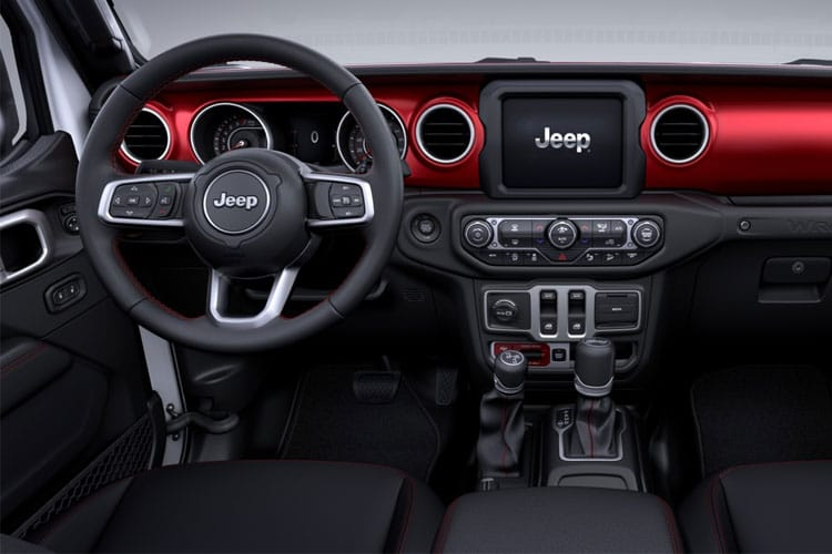 Jeep Wrangler SUV 2Dr 2.0 GME 272PS Overland 2Dr Auto [Start Stop] inside view